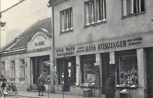 historische Ansicht des Geschäfts