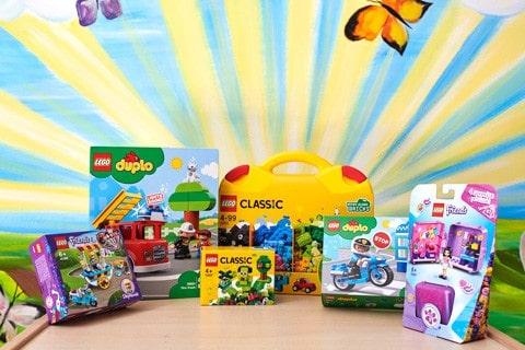 Lego und Duplo für kleine Kinder