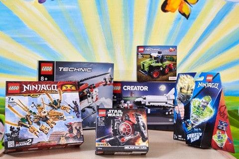 Lego Technik, Creator und Star Wars