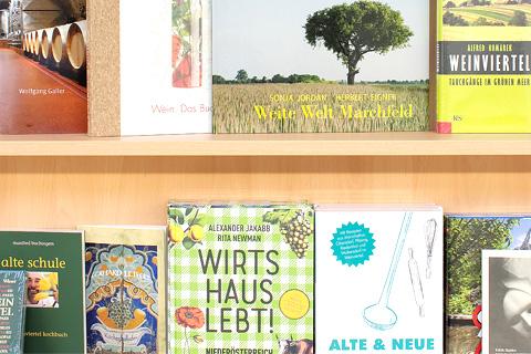 Bücher aus der Region und über das Weinviertel