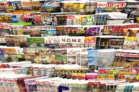 Zeitungen. Zeitschriften, Magazine